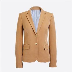 J Crew Schoolboy Camel Wool Blazer/Jacket size 00